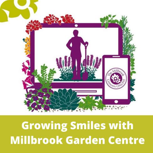 Millbrook Garden Centre to support Greenfingers as their chosen Charity
